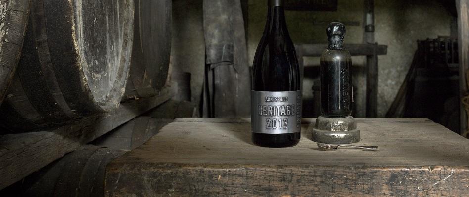 Auntsfield Estate Heritage Pinot Noir side-by-side Historic Muscat 1905 David Herd
